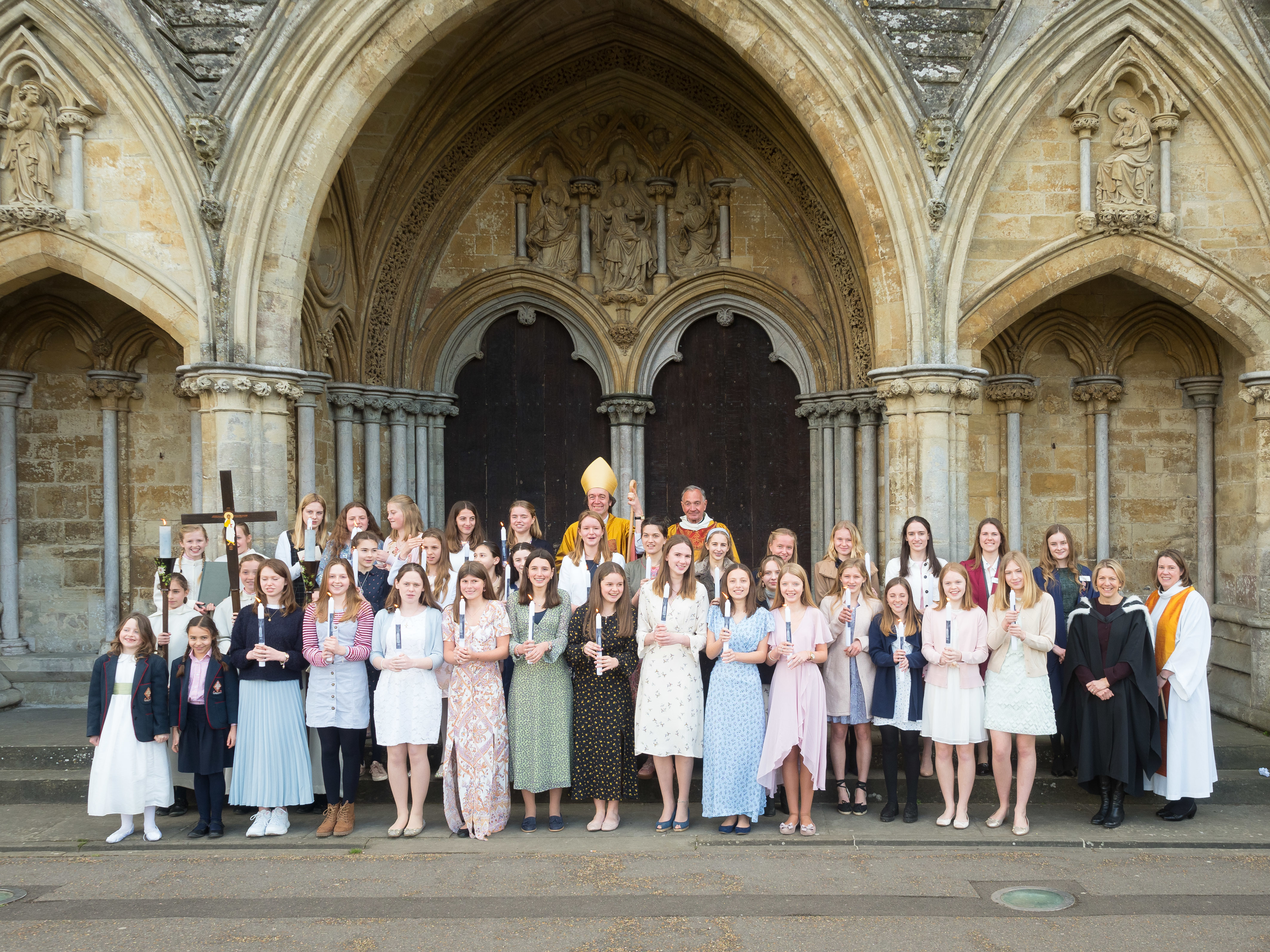 257 3Rd April2019 Godolphin School Service Photo By Ash Mills