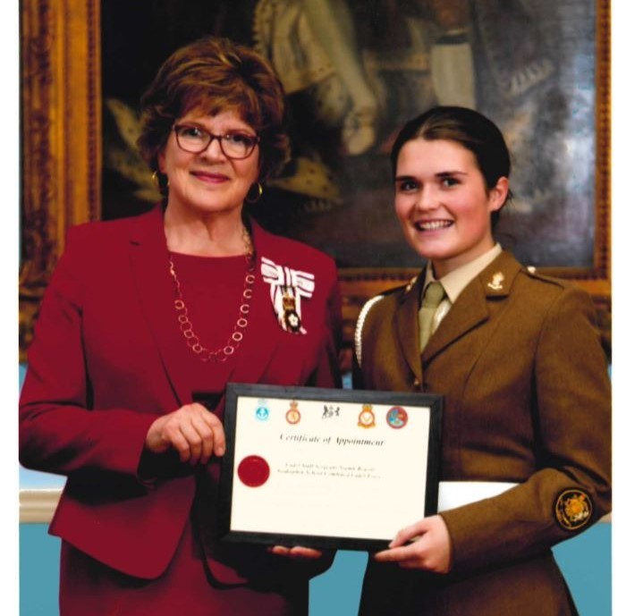 Niamh Reavill Lieutenant Of Wiltshire Cadets 3 Website