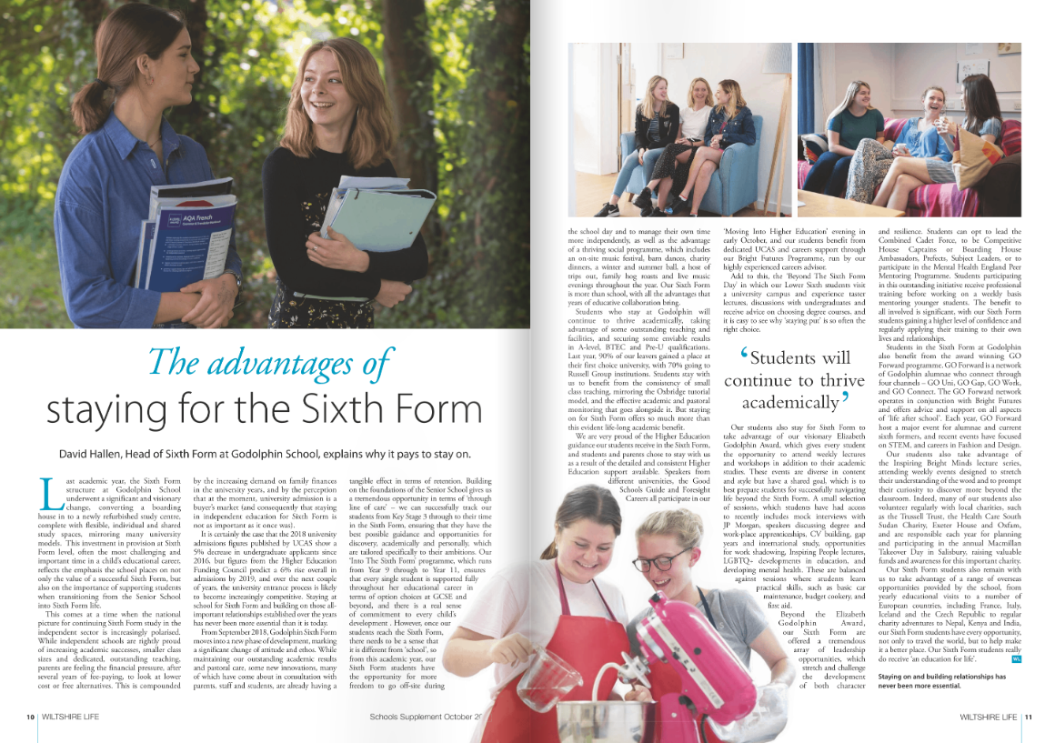 Sixth Form Dh Article